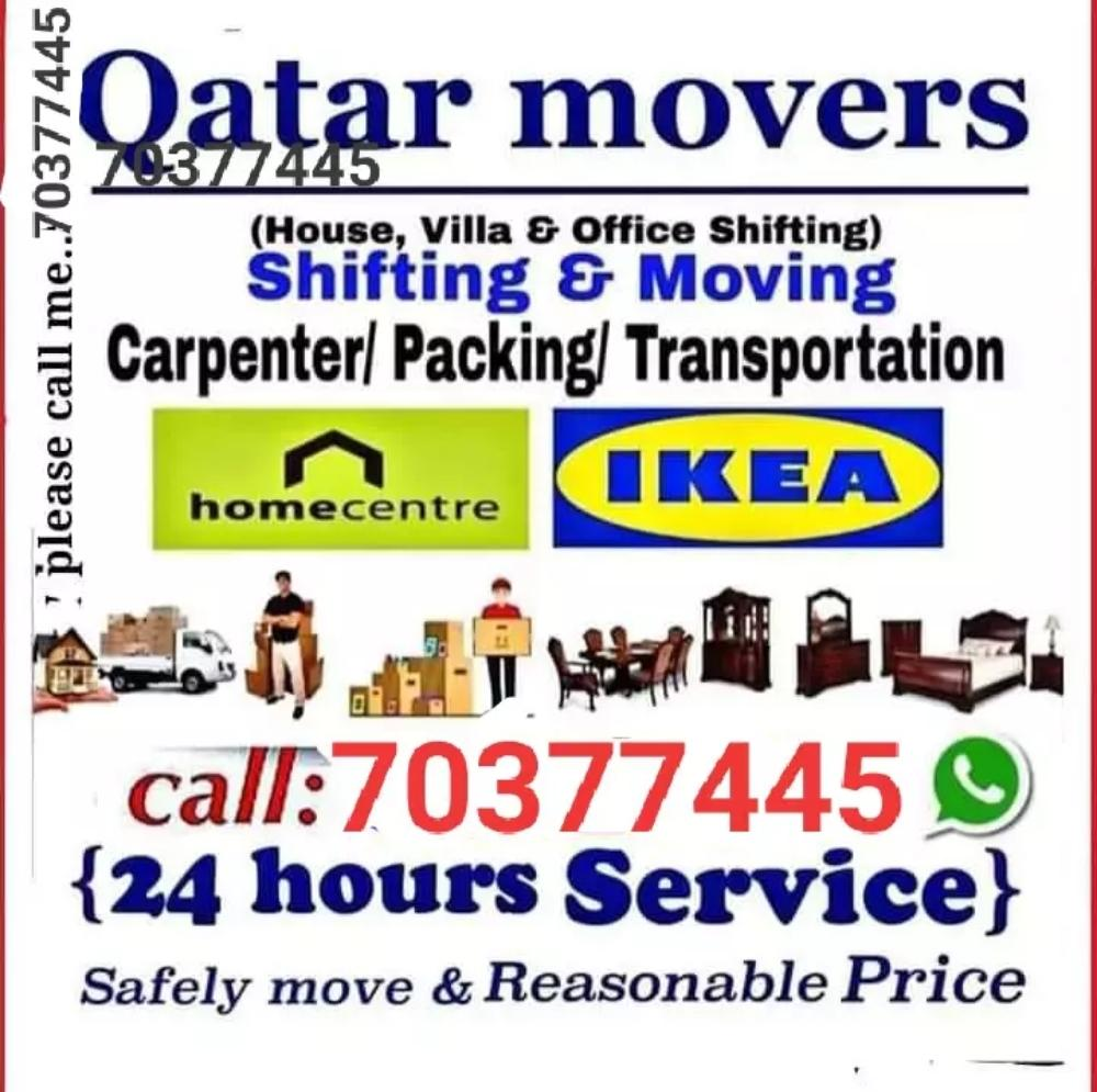 All kind of shifting and moving services. Please c