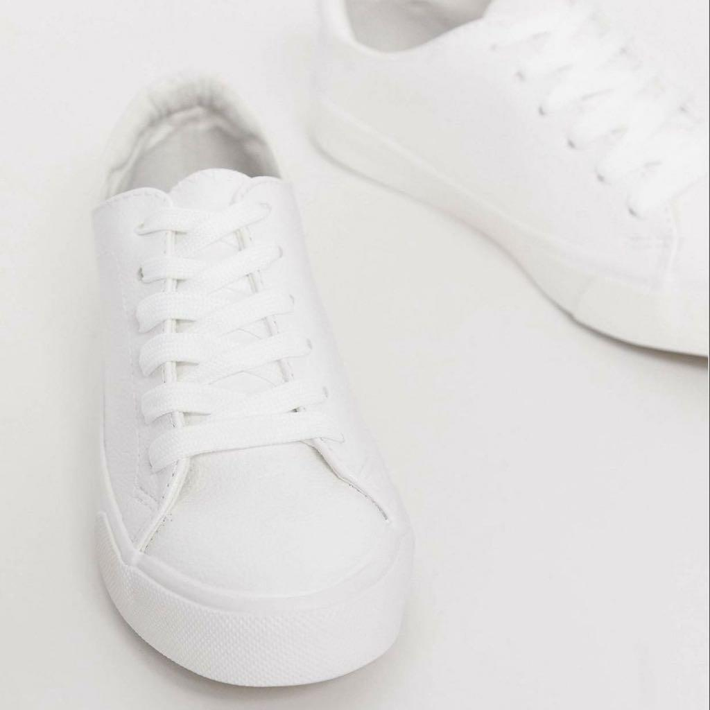 New look classic trainer white color