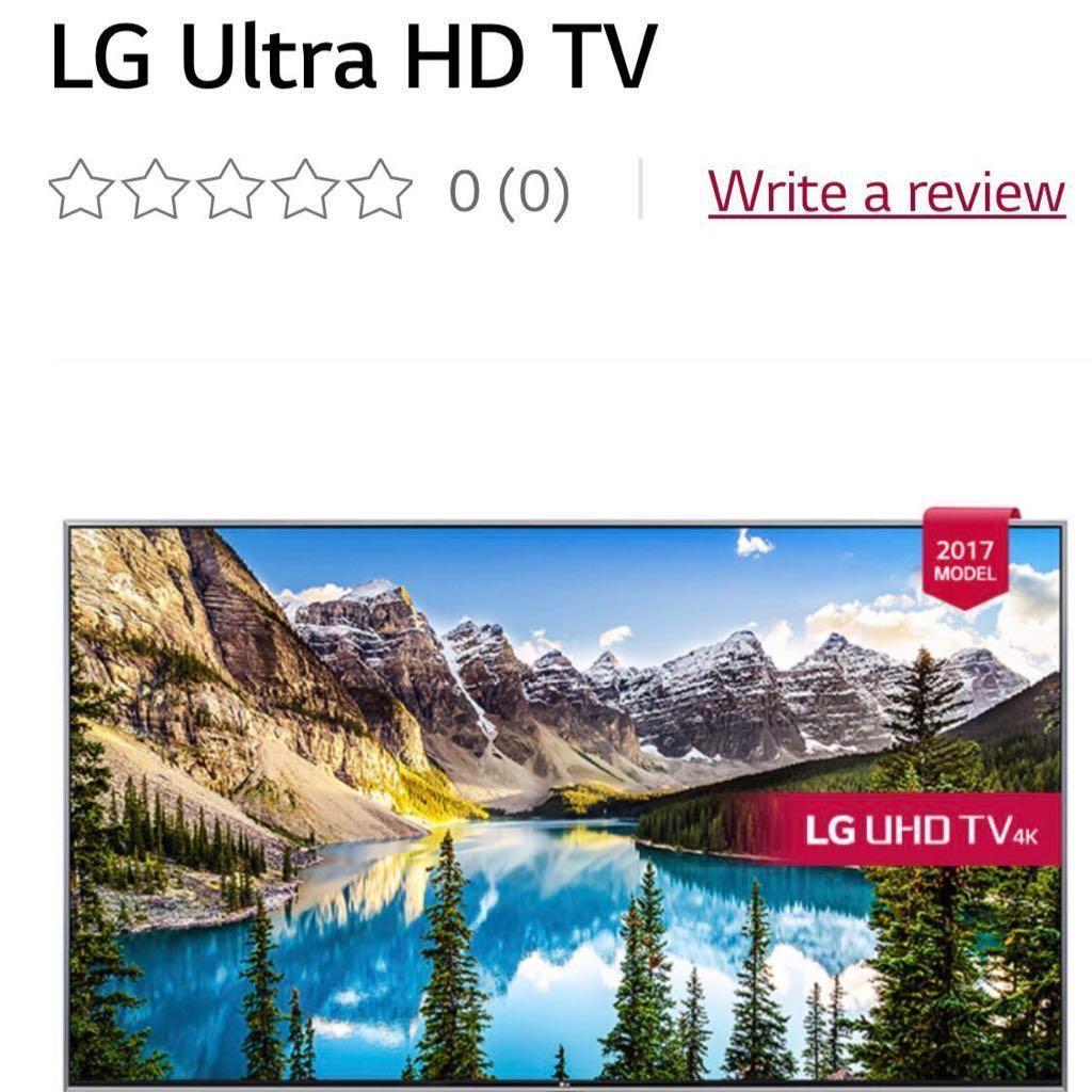"LG TV 55"""