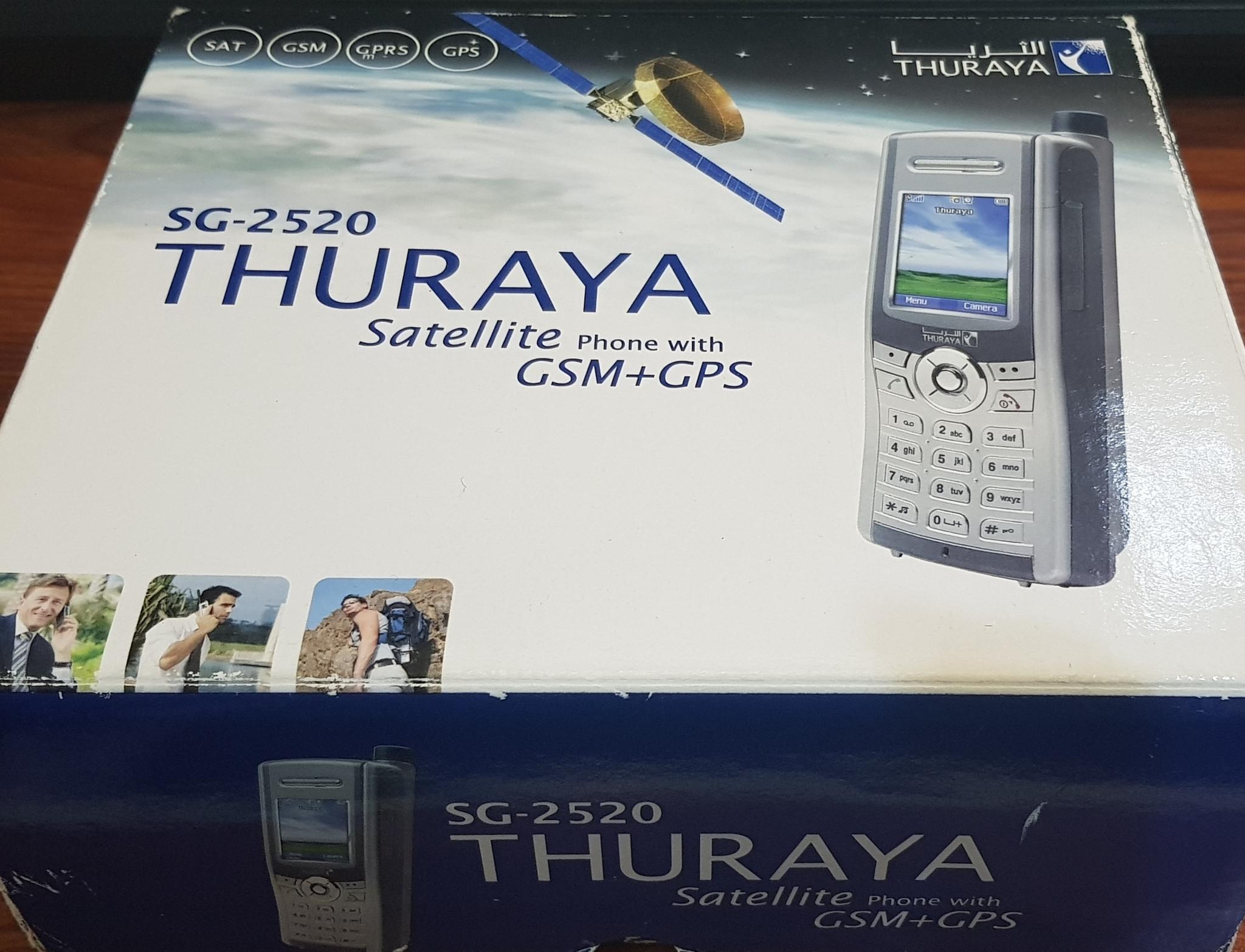 Satellite Phone Thuraya SG-2520