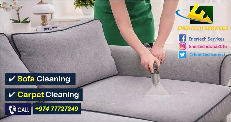 Sofa and Carpet Cleaning Services - 24/7 Available