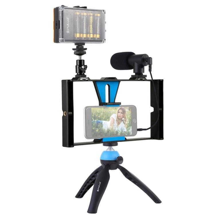 Puluz PKT3023 Live Broadcast LED Selfie Kits – Sma
