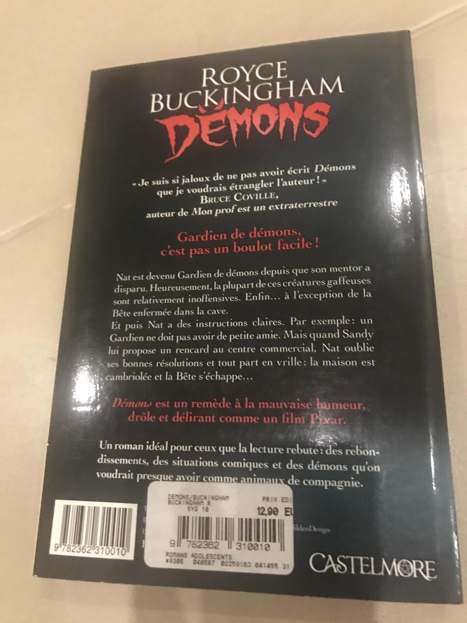 Mystery book set (French)