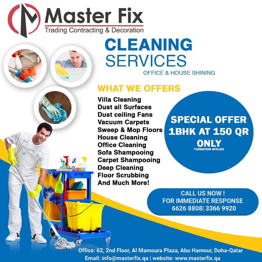 CAll 50520769 ALL KIND OF CLEANING SERVICES AT VER