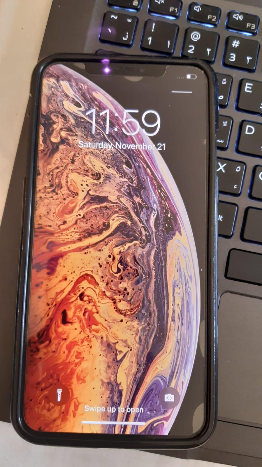 iPhone XS Max 64G GOLD + Clear Coat Warranty