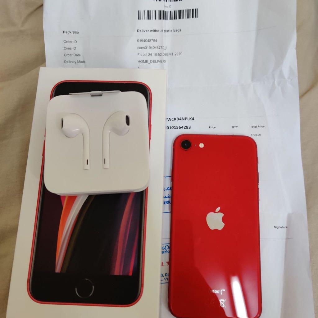 IPHONE SE 2020 128GB RED 99%