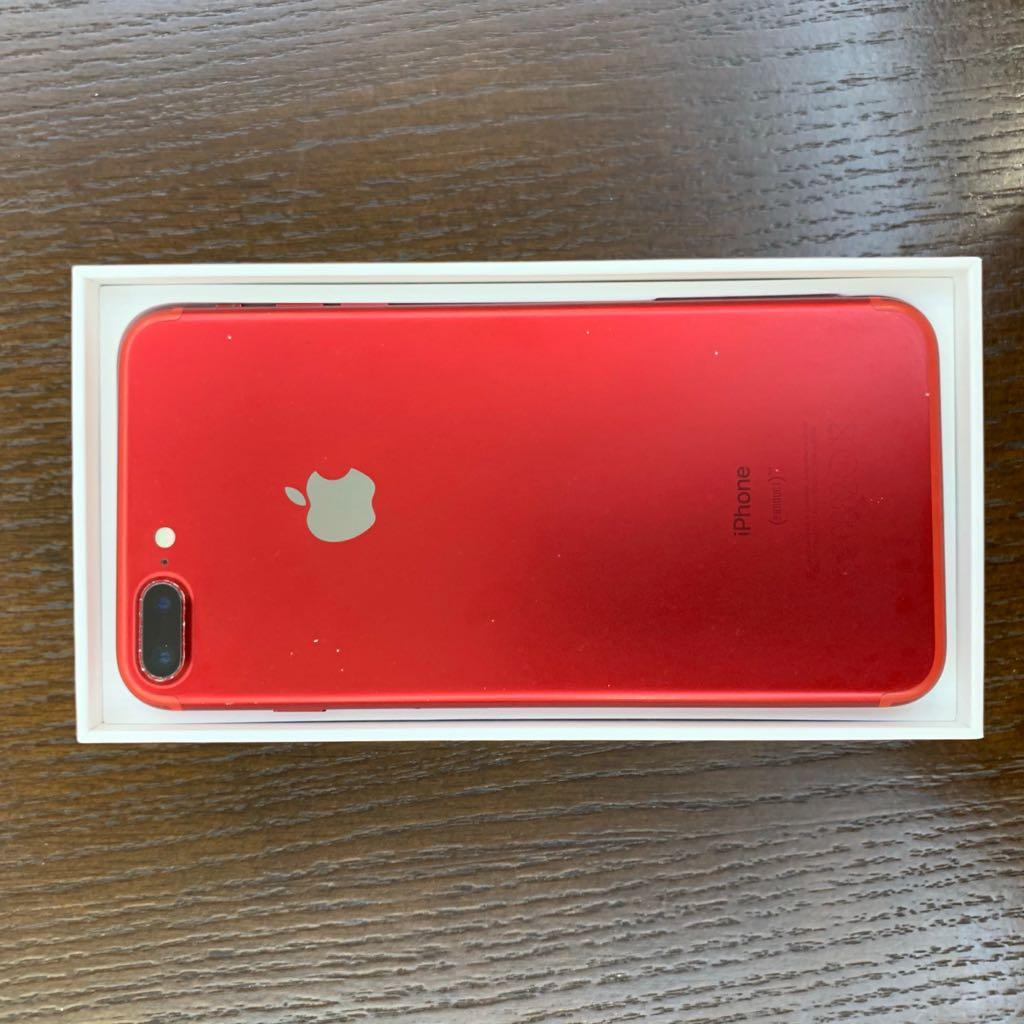 I Phone 7 Plus Red Edition 128 GB With Box