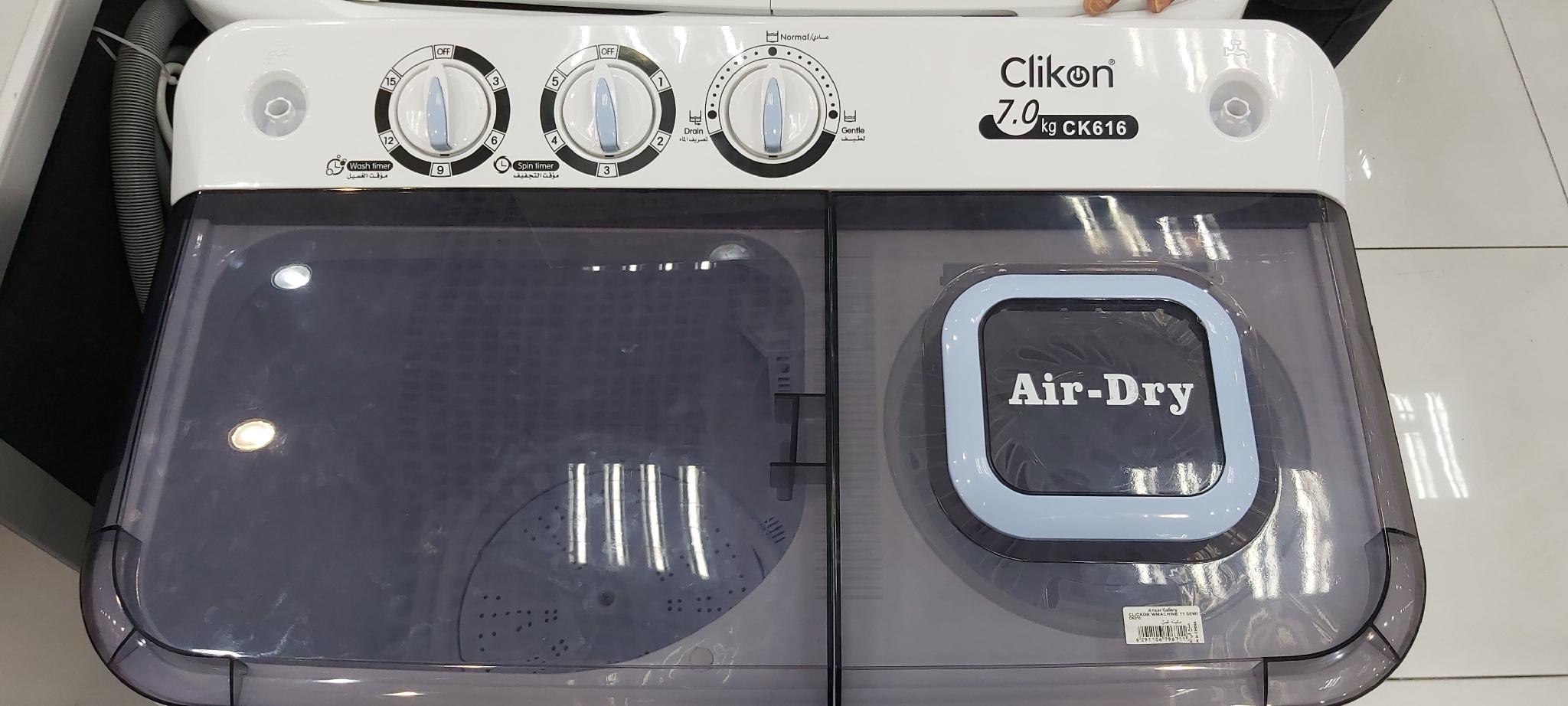 Clikon Semi Automatic Washing Machine
