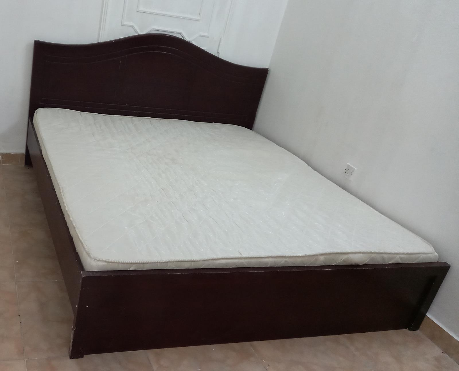 Bed with Mattress 120cm x  190cm, 150cm X 190cm &