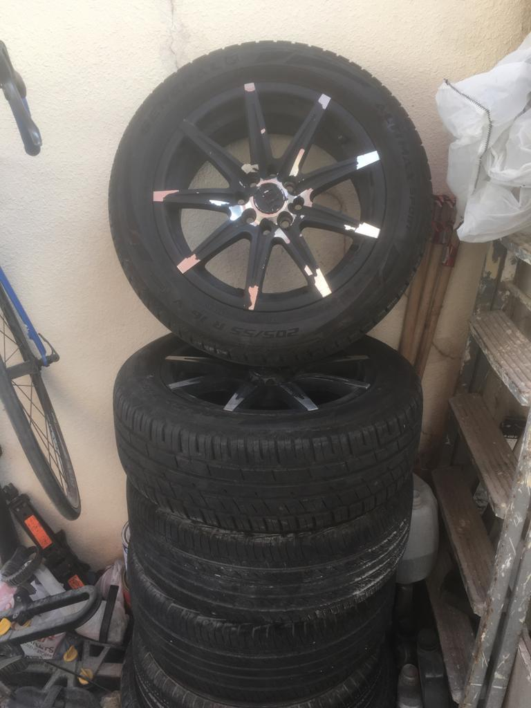 4 pcs Mags Wheel Rim 16
