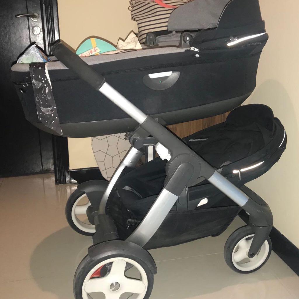 Stokke crusi sibling seat stroller Price 1000 QAR