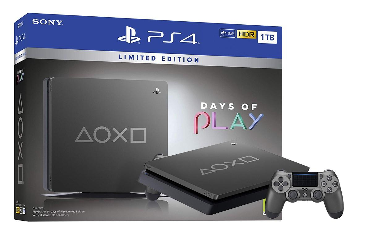 PS4 Days of Play Limited Edition 1Terabyte
