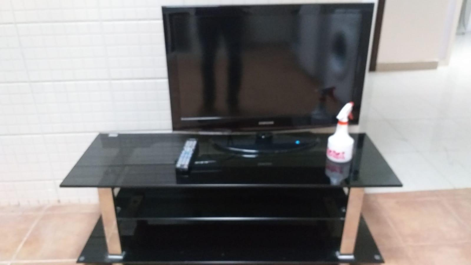 Fridge, TV with stand for sale