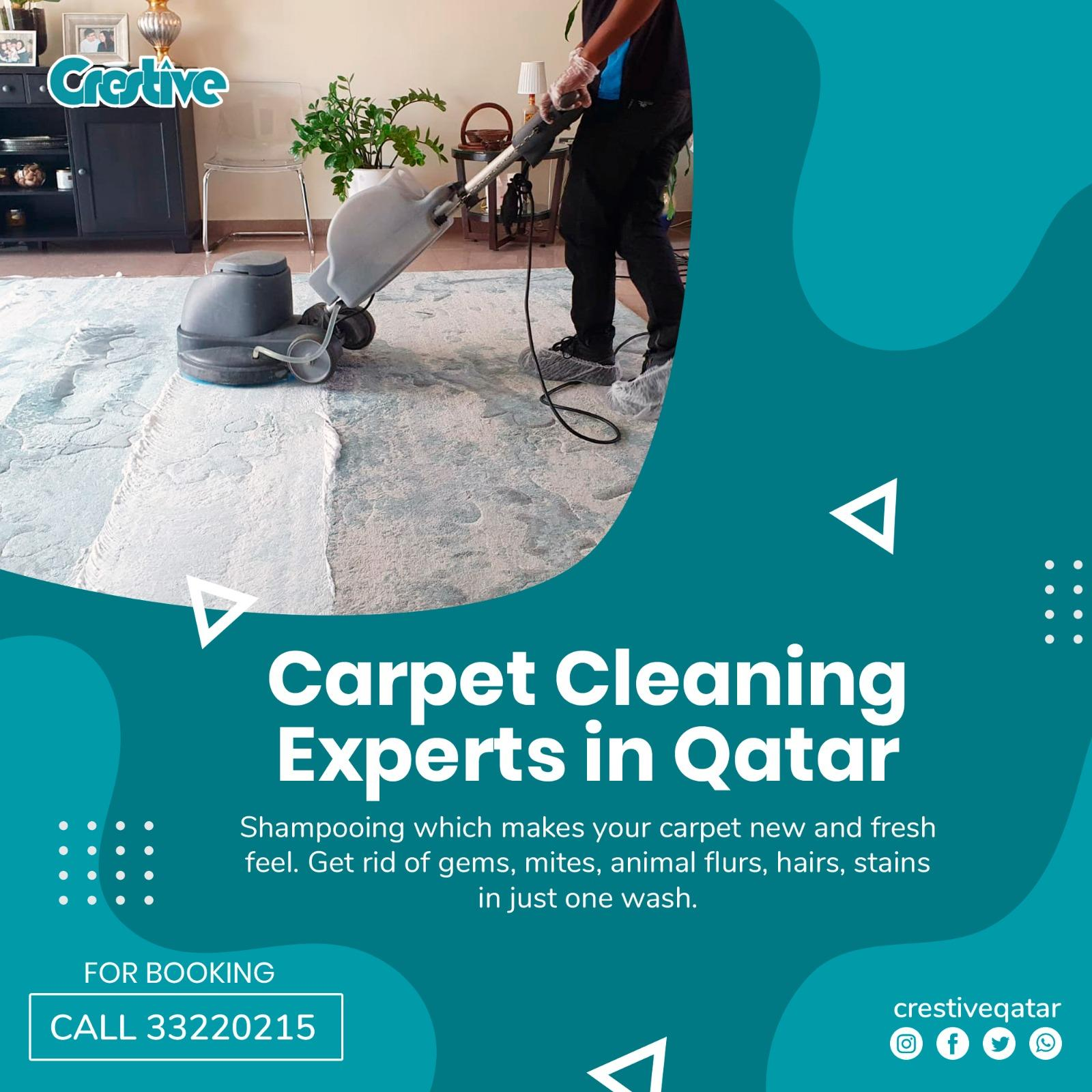 Cleaning Services :  Sofa  / Carpet  / Mattress /