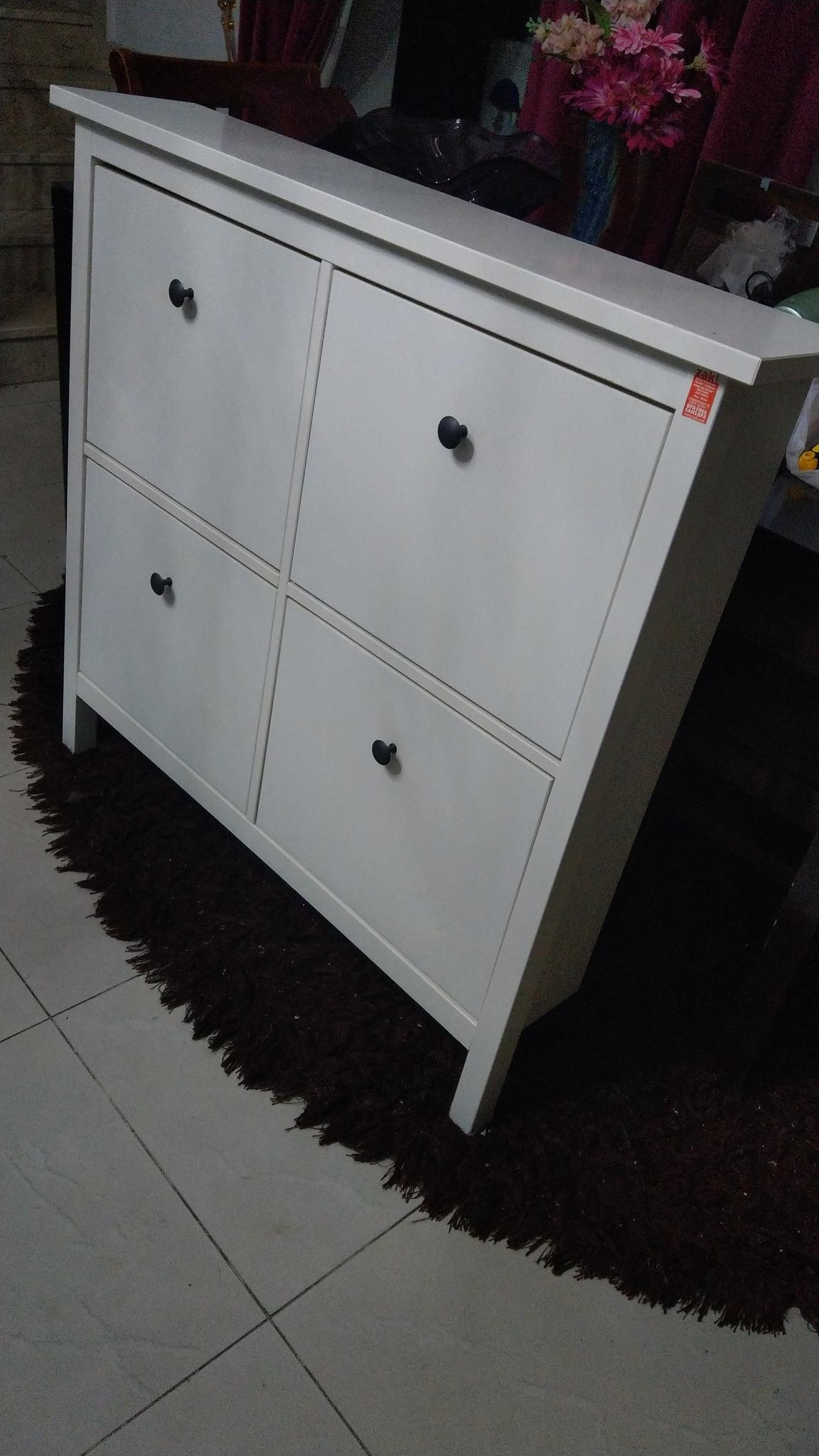 Two ikea shoe cabinet, new design hanged on wall