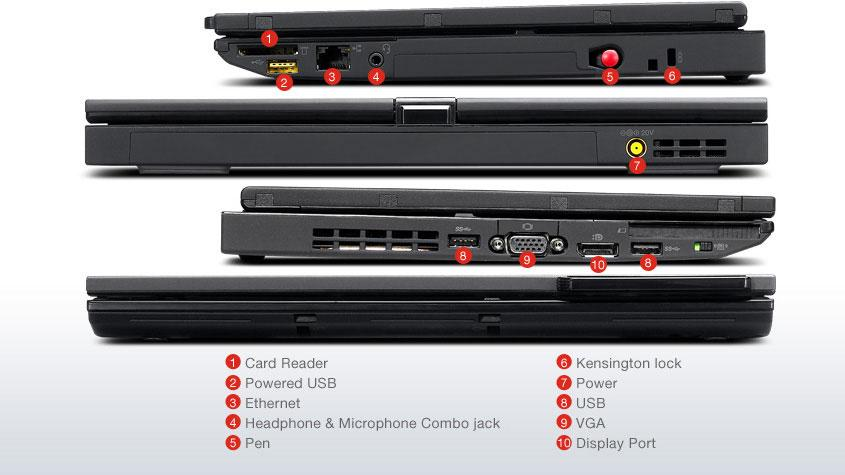 Lenovo ThinkPad X230 Tablet  i7 8GB 500GB 12.5