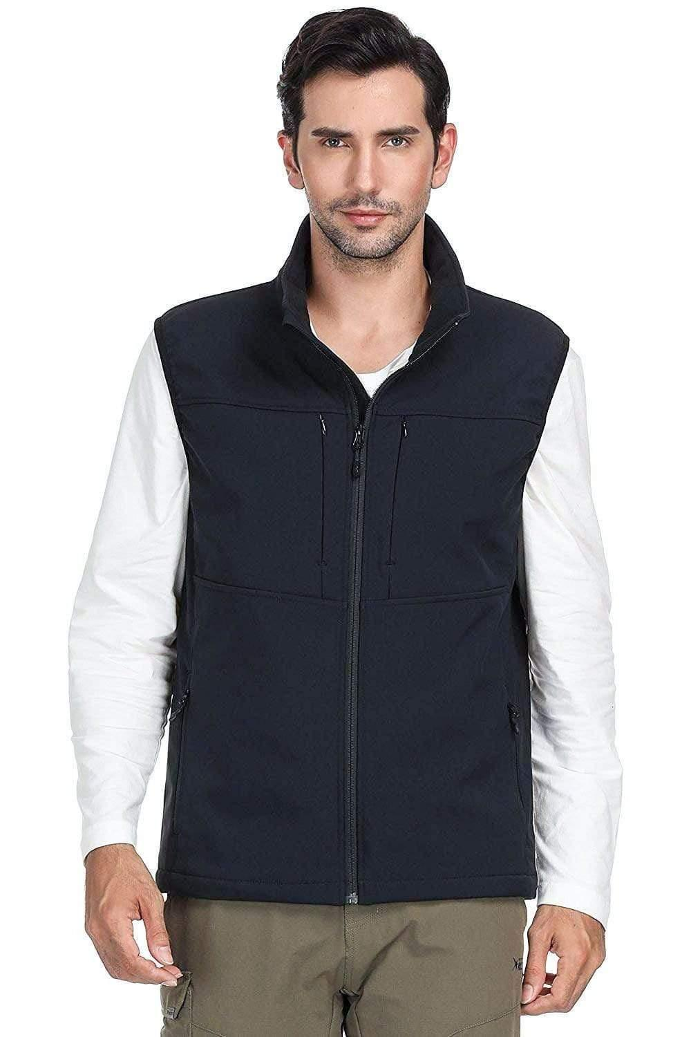 MIER  Travel Jacket, Vest BRAND NEW  Softshell for