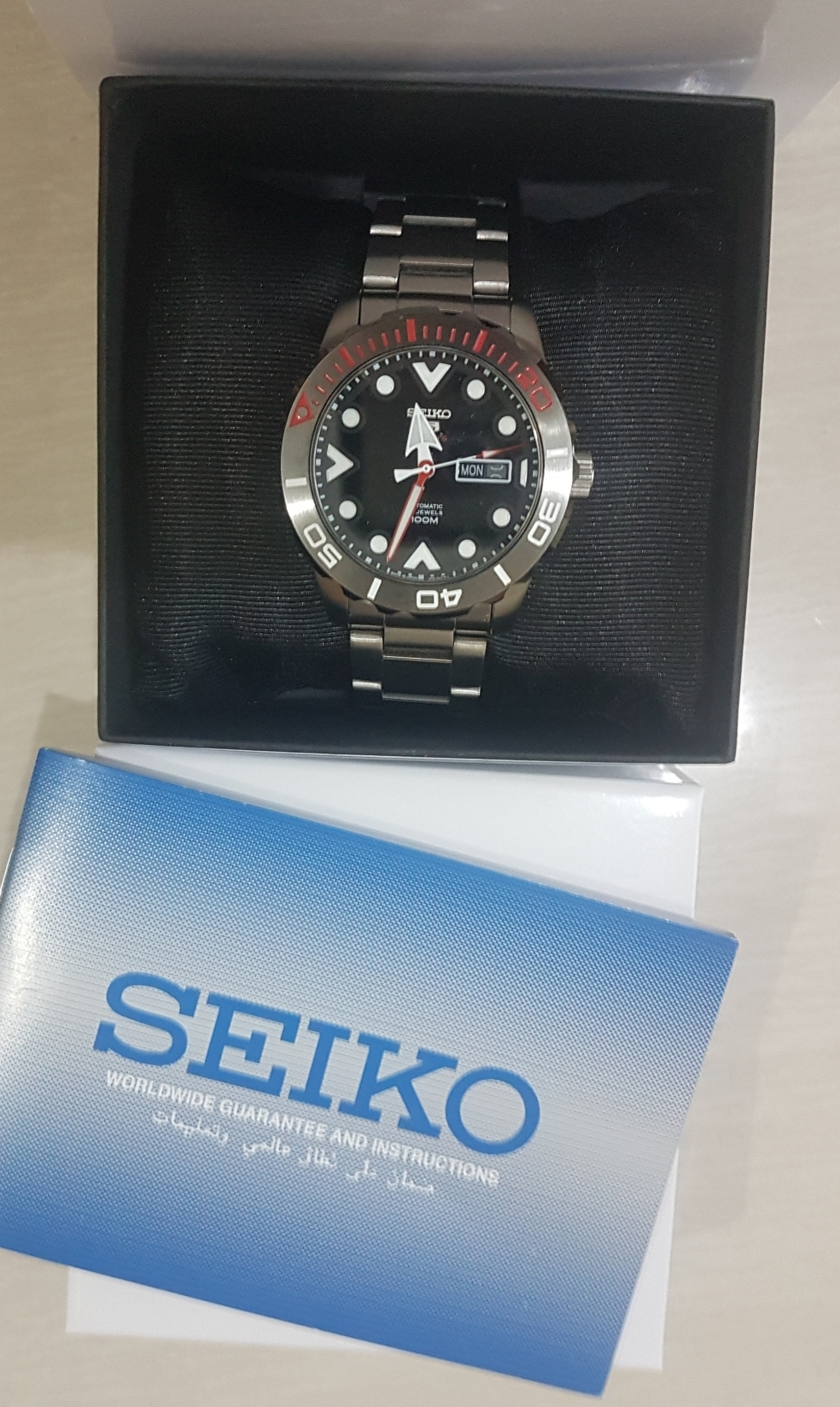 Brand new Seiko 5 Divers Watch Automatic Japan
