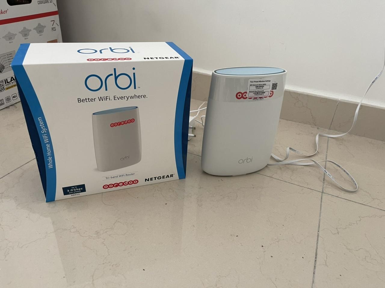 ORBI wifi router RBR 50 up to 3.0 Gbps Netgear
