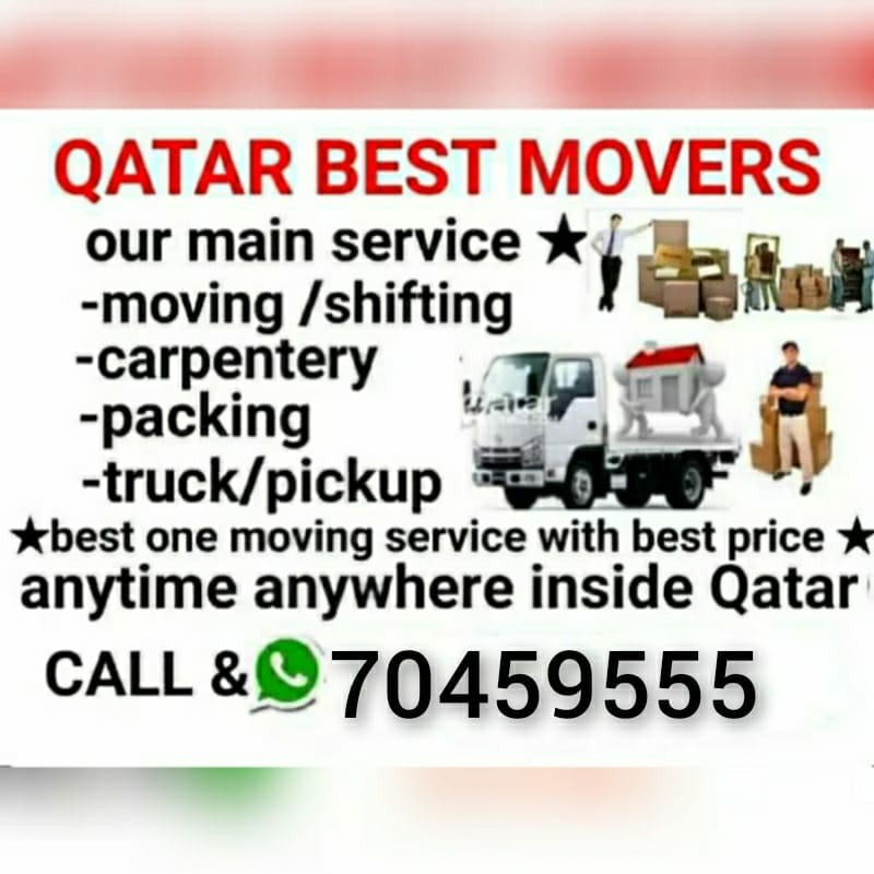 Best price Moving and Shifting available 70459555
