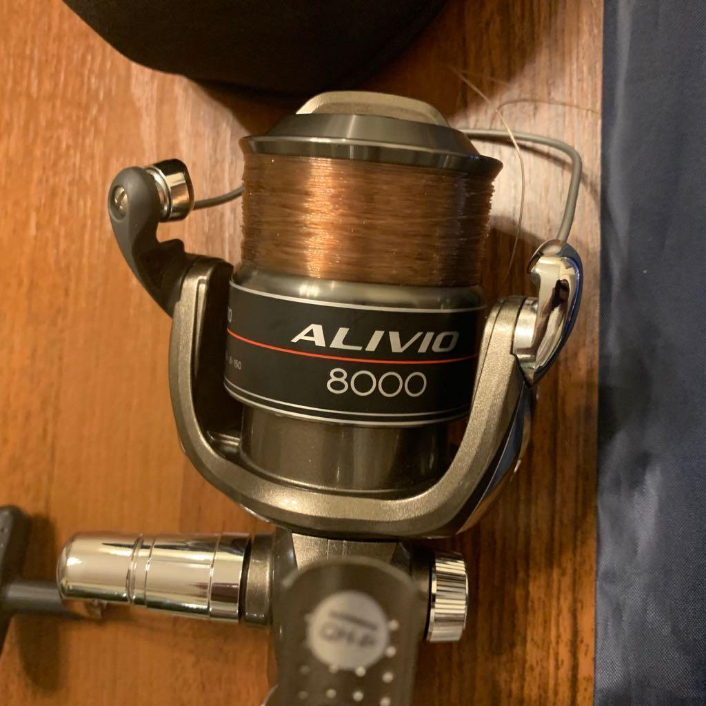 Surf Casting Rod Lemax With Shimano Reel