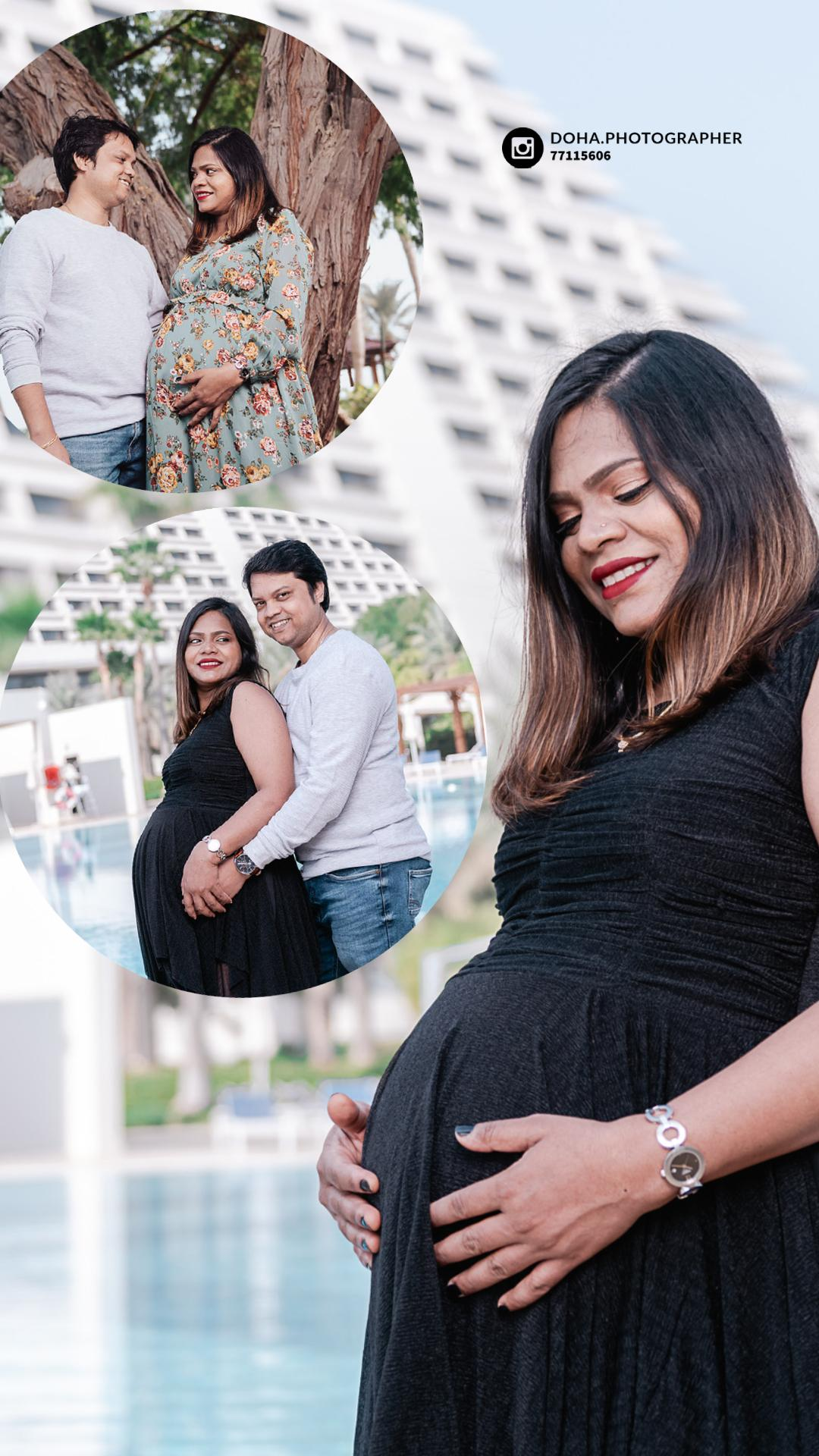 Maternity Photo Session in Doha