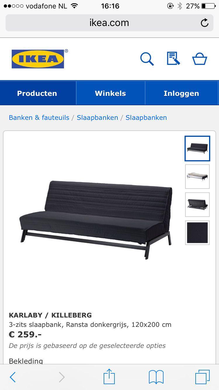 Ikea Karlabi Sofa bed (3 seater)
