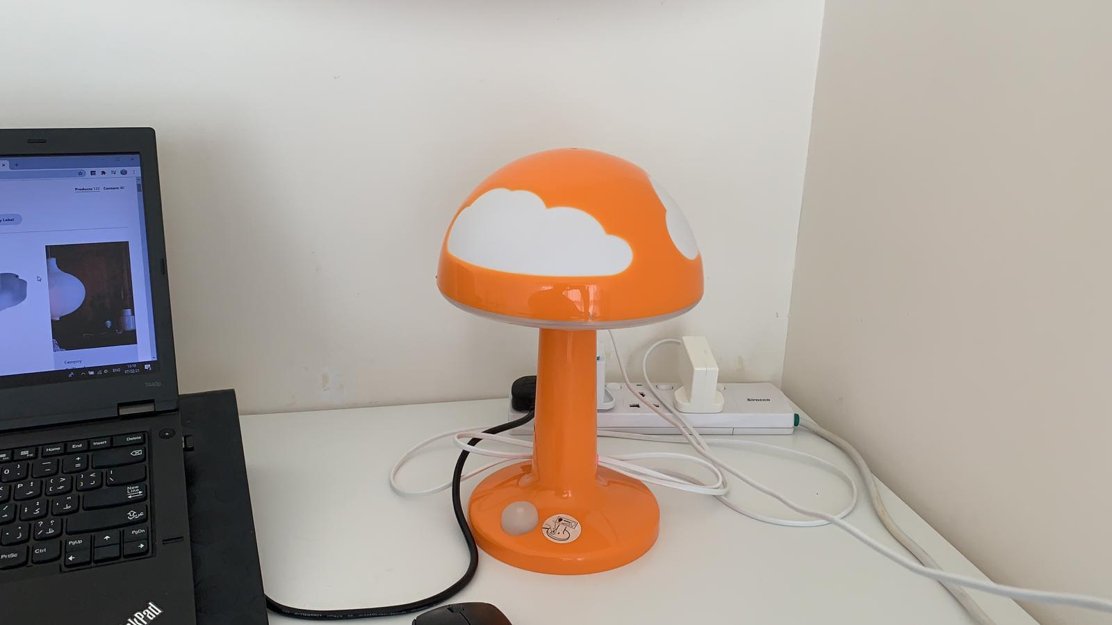 IKEA Kids Lamps with dimmer to control intensity