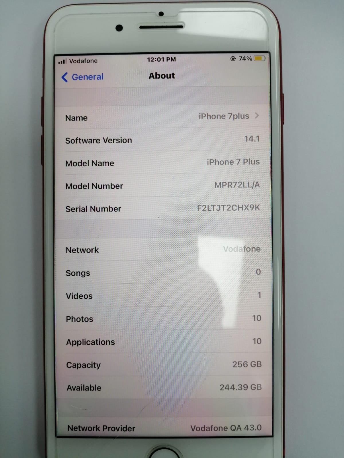 IPHONE 7 plus 128 GB & 256 both