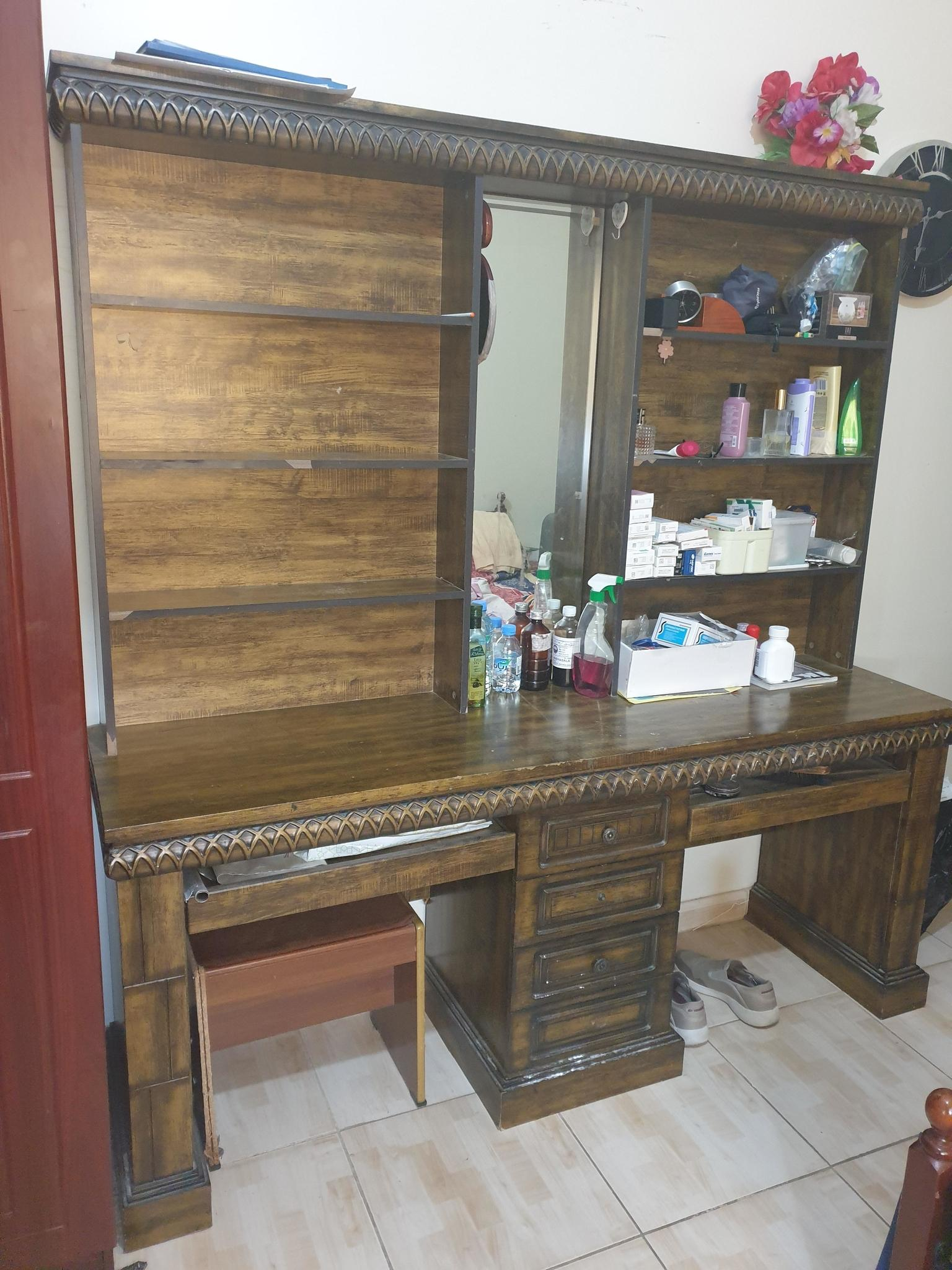 Home furniture . ( Bed, Dressing Table, Side Table
