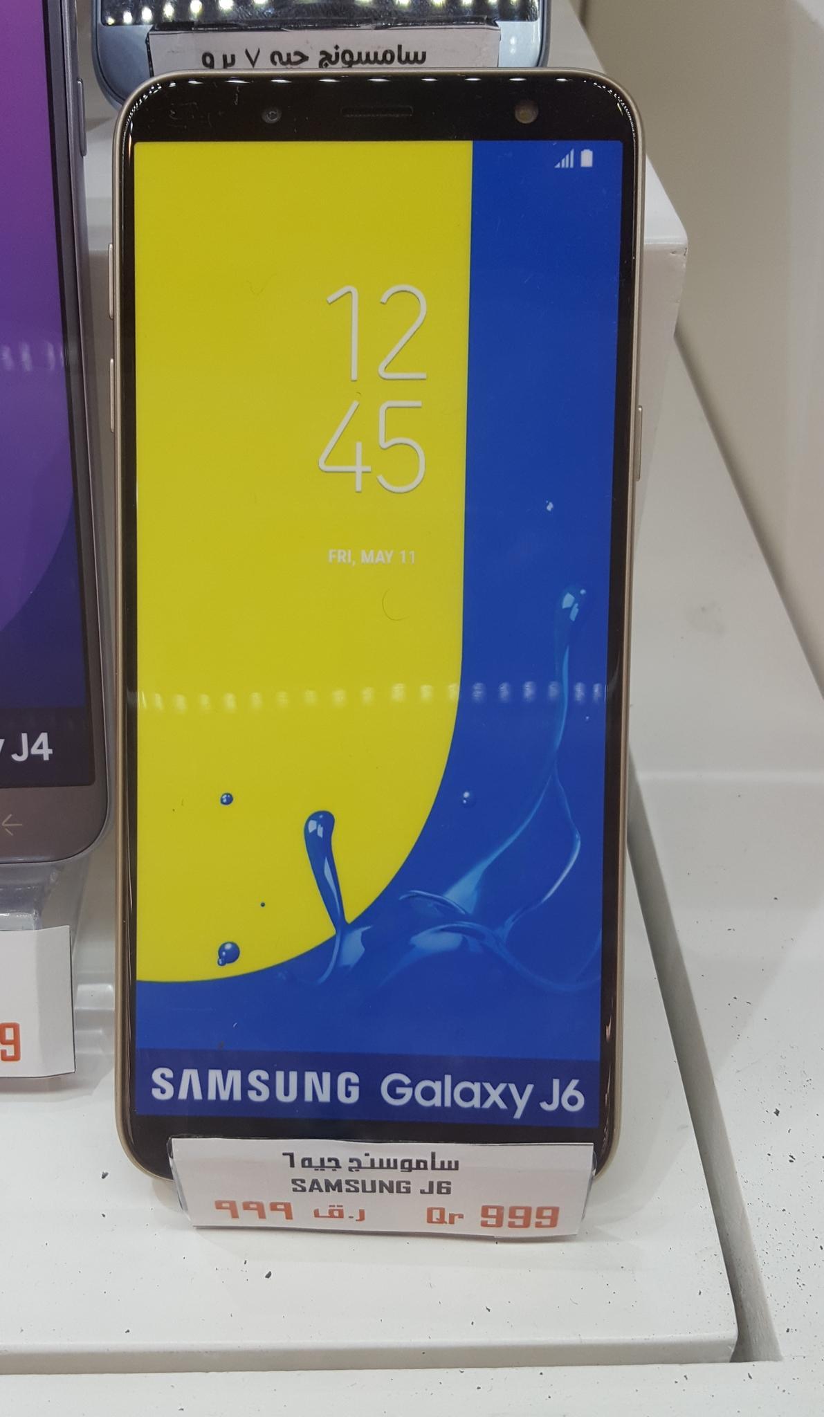 Samsung J6 GOLD with 5.6 Amoled Display.  Like New