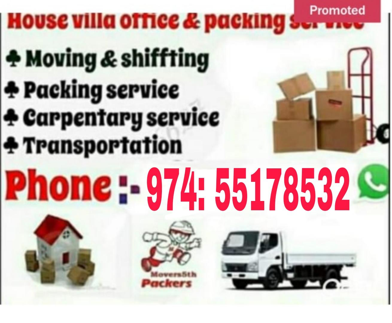 All type of shifting and moving. Please call:-974: