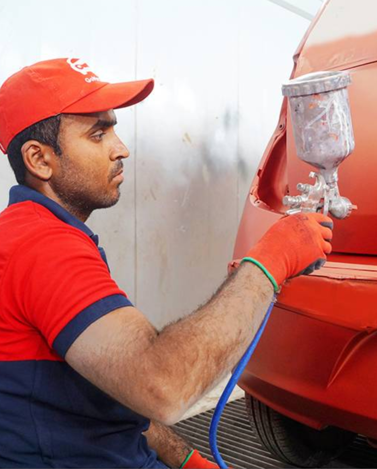 Denting and full Painting your Car with 1100qar