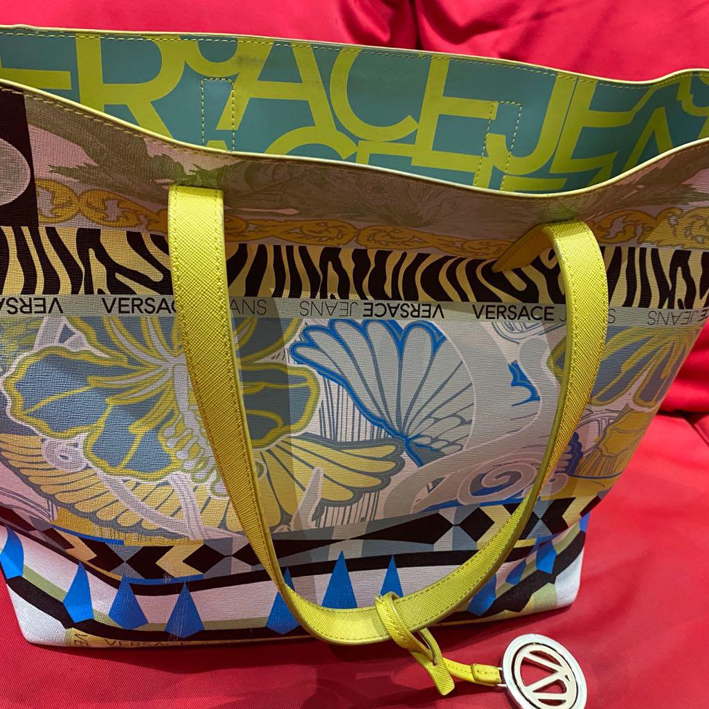 Versace Tote Bag For Sale