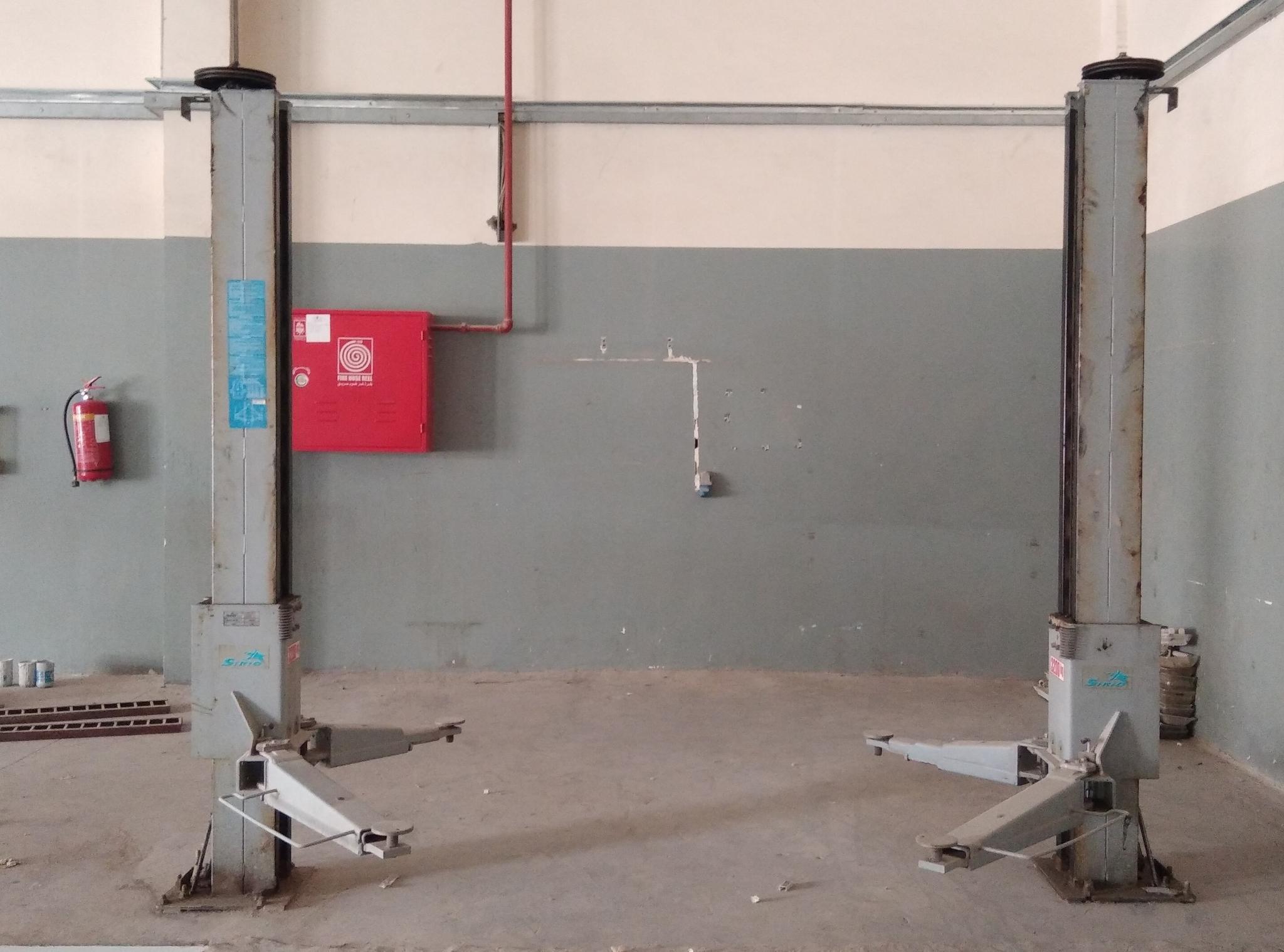 SR37K-R Sirio Car liftjacks w/out motor