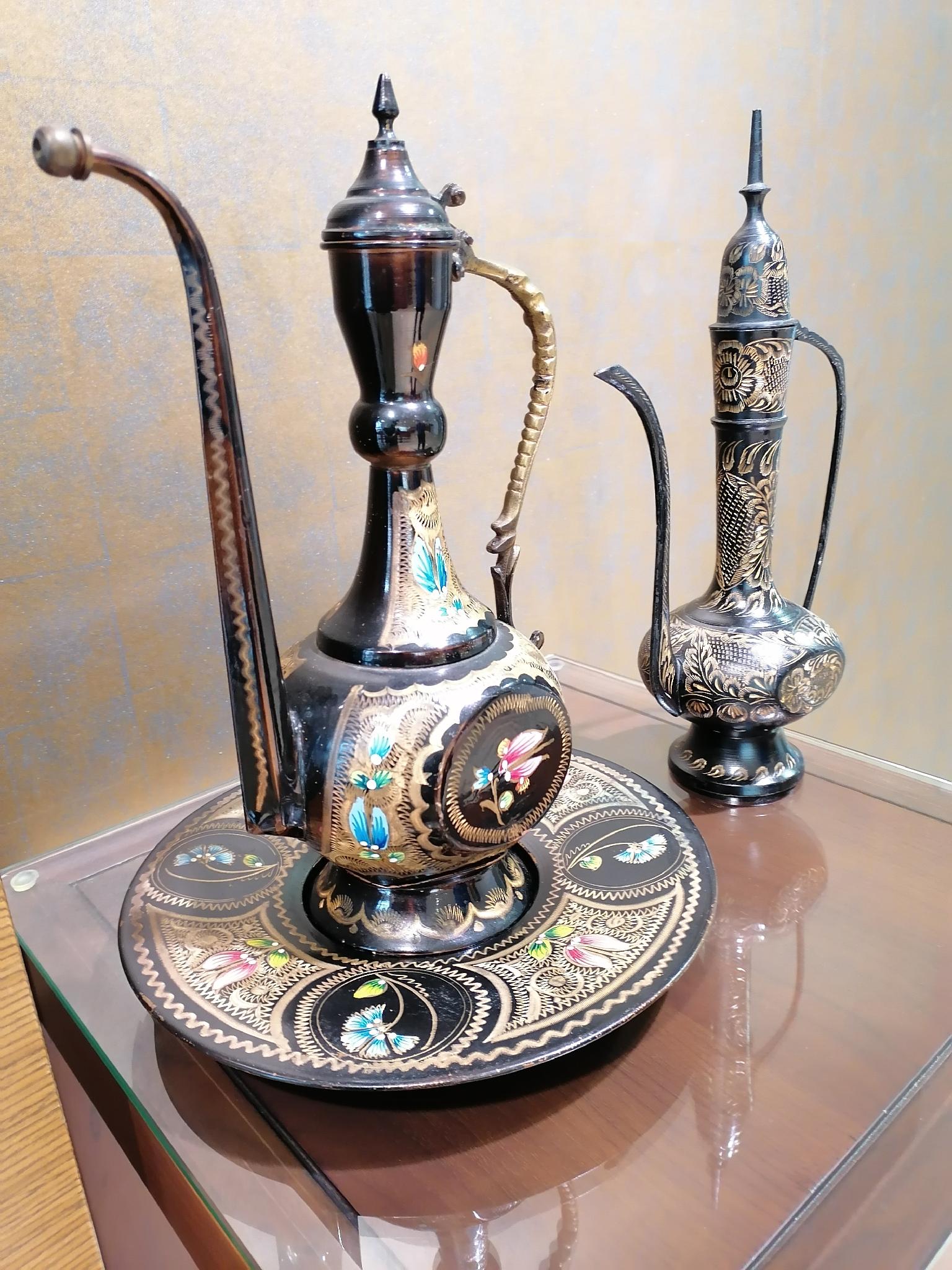Vintage Antique Arabic Dallah 1970
