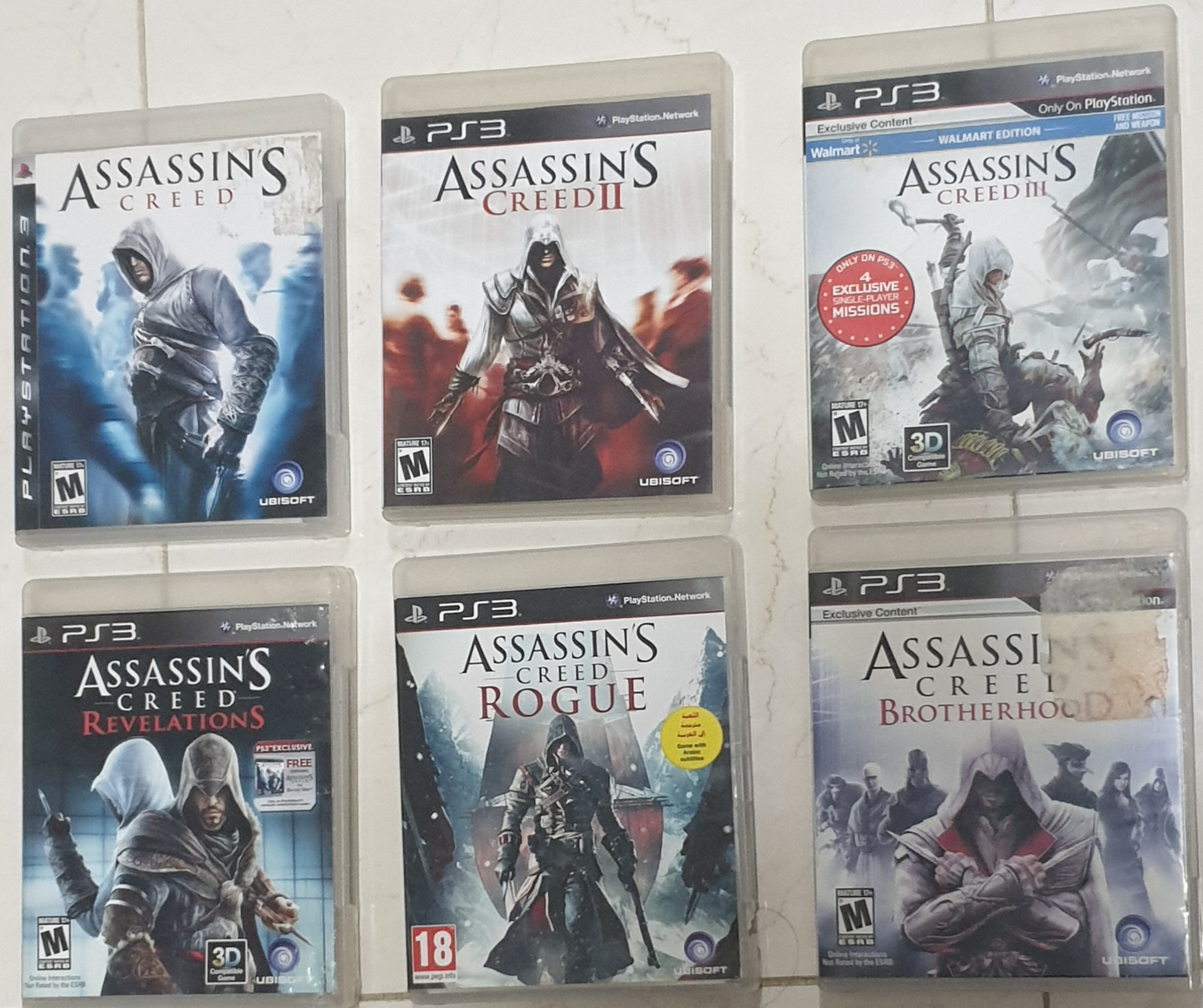 PS3 games in excellent condition for best price