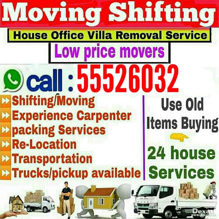 LOW PRICE Moving Shifting packing Carpenter Transp