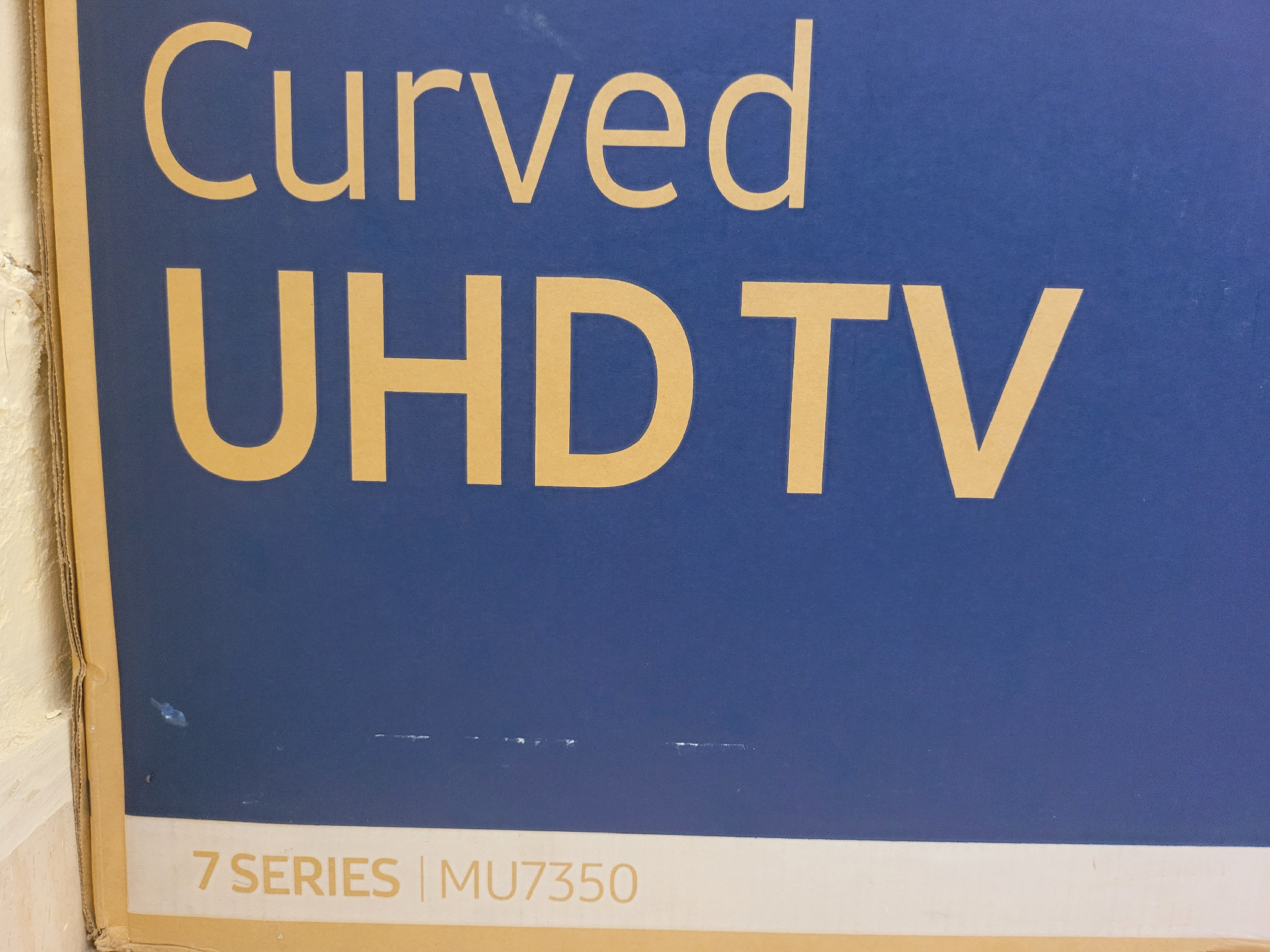 Samsung smart Curve 55 inches 4k