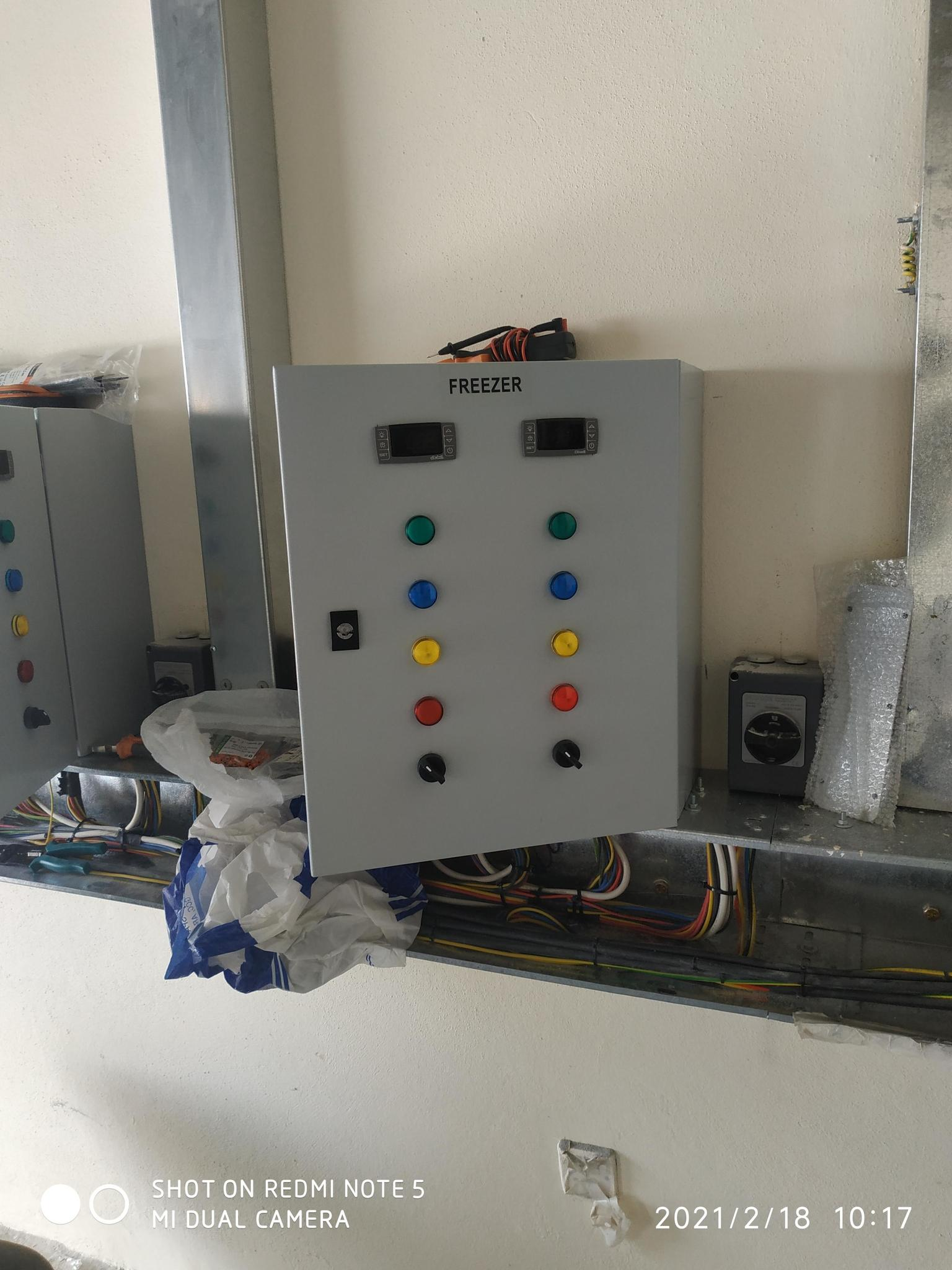 freezer and chiller room installation and maintena