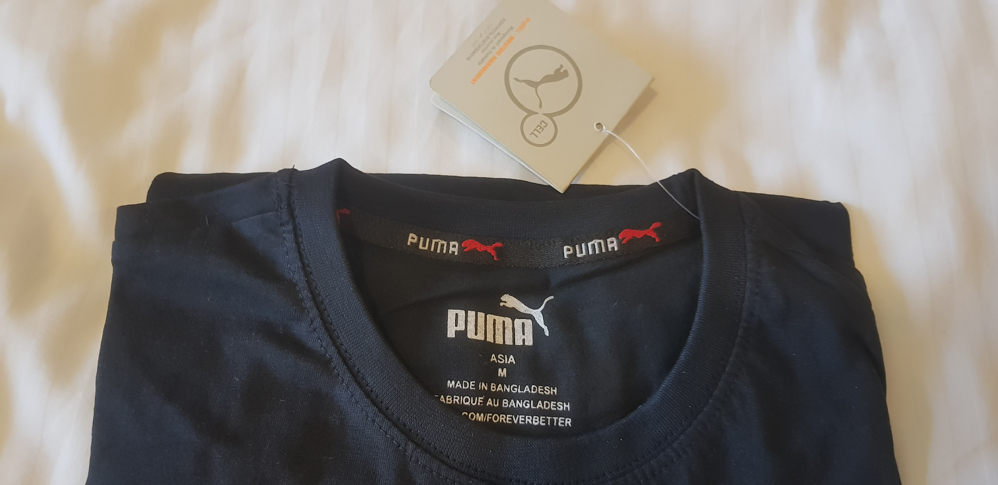 Puma Branded T-Shirt For Sale