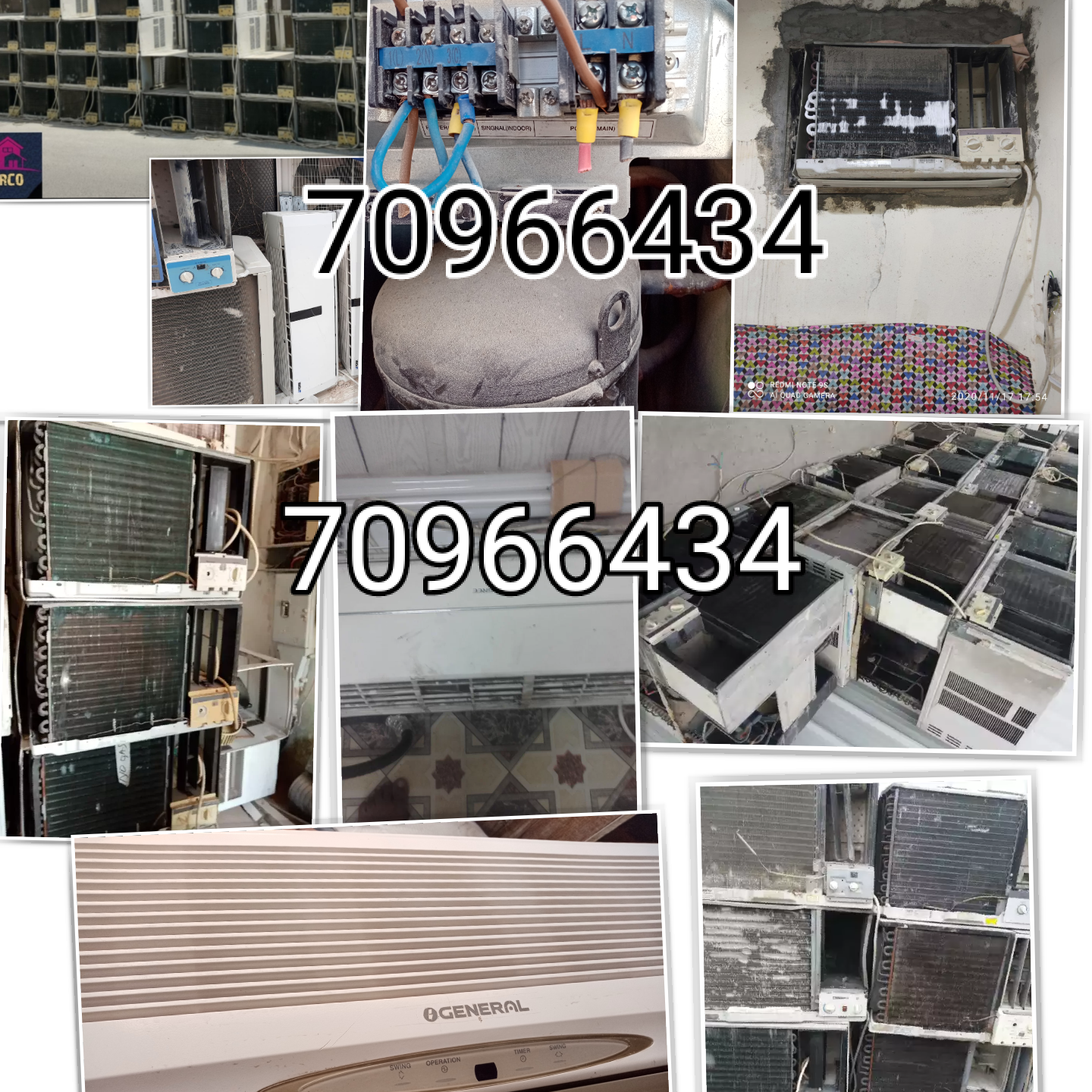 We do all type AC repair and service, also buying