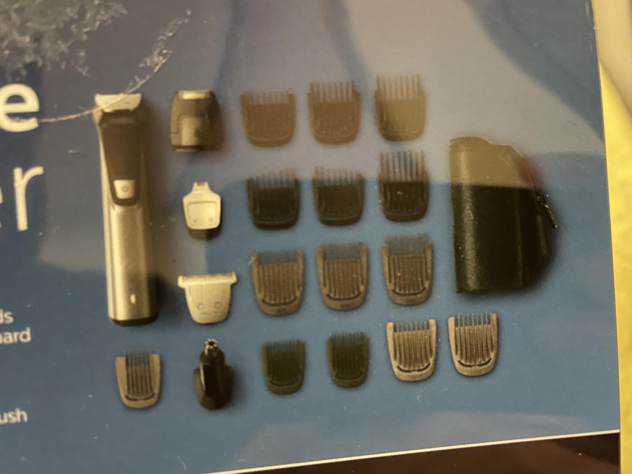 Philips shaver norelco multi groom 7000