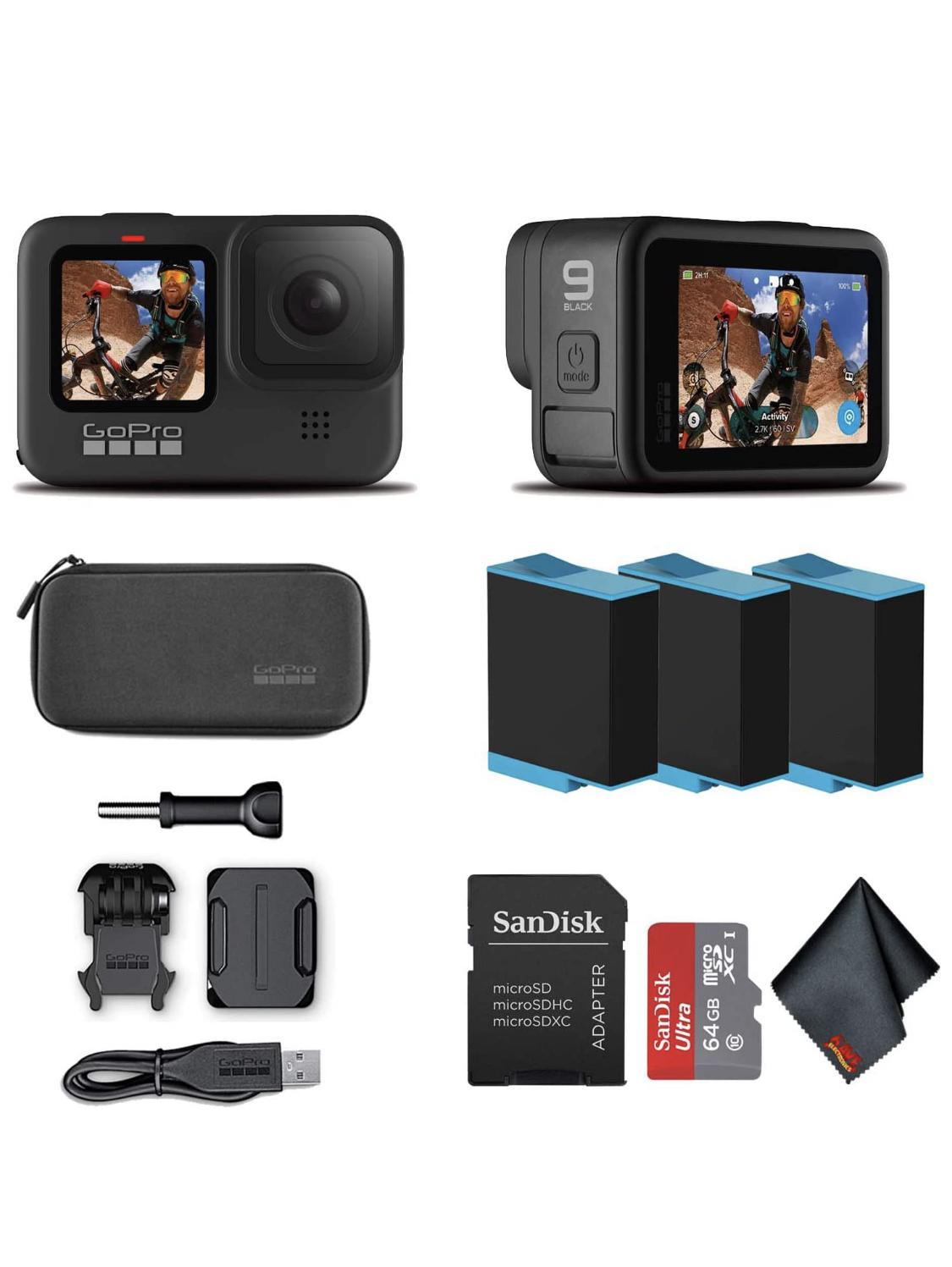 Brand new gopro9 black with a lot of extras