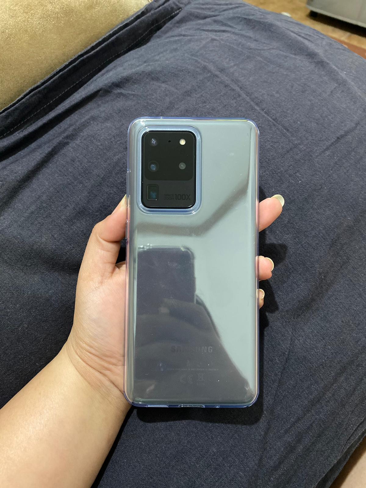 GalaxyS20 Ultra 5G,128GB,Cosmic Grey,100% healty 5