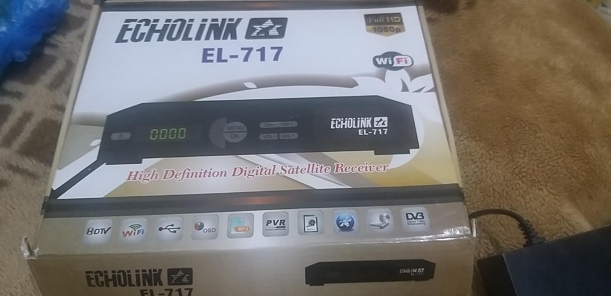 Echolink EL-717 Satellite Receiver DVB HDTV