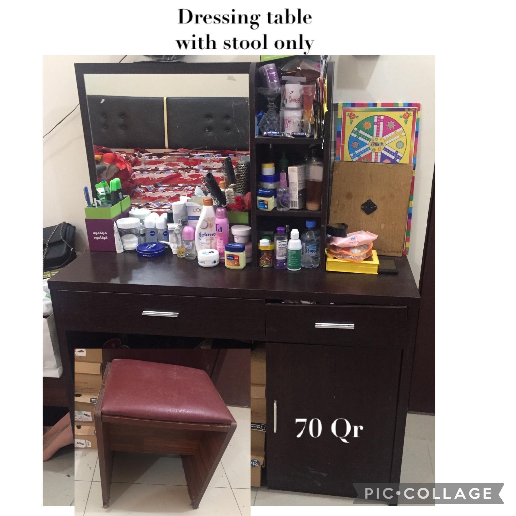 Sofa, dresser, iron stand, price negotiable