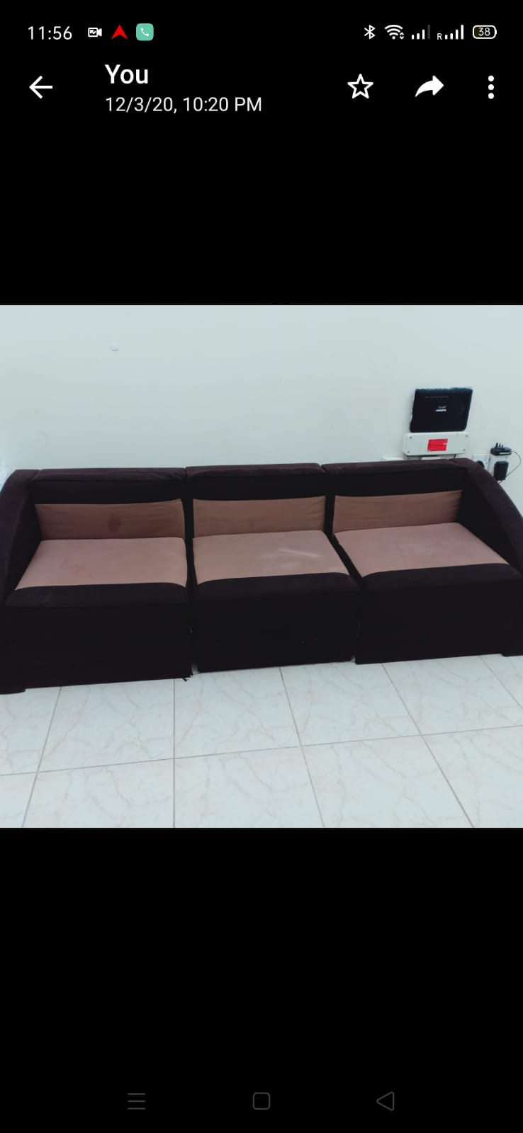 3 seater sofa for urgent sale