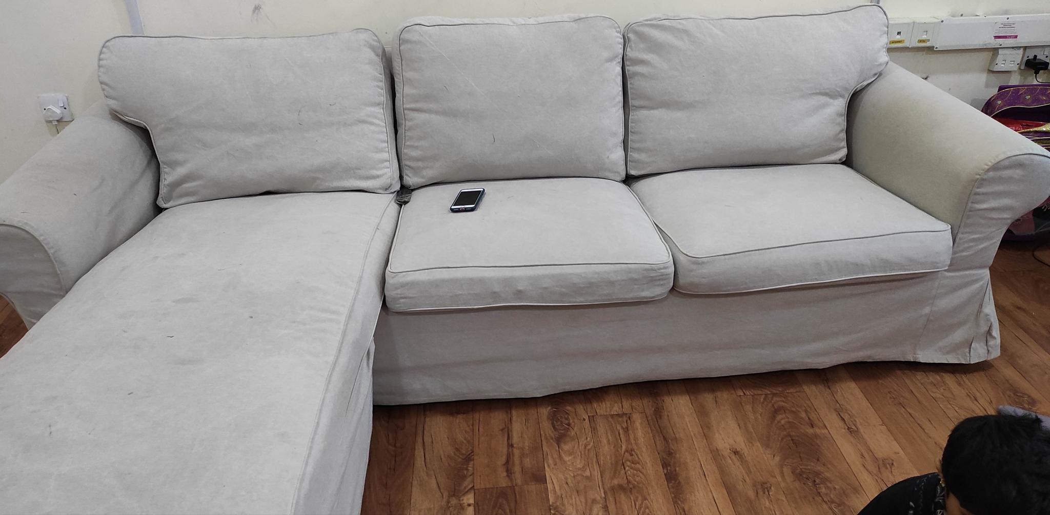 Ikea Ektorp 3 seat sofa for urgent sale