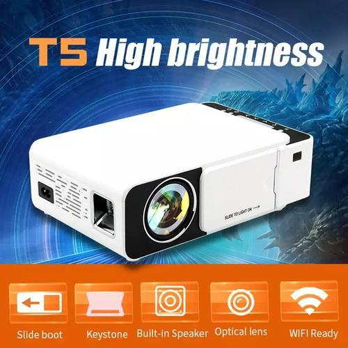 T5 Portable LED 1080P Video HD Projector 2600 Lume